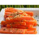 American Parmesan Crusted Baby Carrots Recipe Appetizer