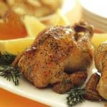 American Roast Chicken Garlicpotatoes Appetizer