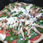 Grecian Chicken Gyros Pizza recipe