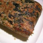 Turkish Terrine of Turkey with Spinach Appetizer