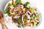 Turkish Turkey And Avocado Salad With Cranberry Dressing Recipe Appetizer