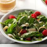 Turkish Smoked Turkey Salad with Raspberries Appetizer