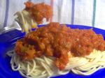 American How to Get Kids to Eat Their Veggies Spaghetti Sauce Dinner