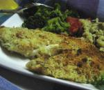 American Nutty Oven Fried Fish Dinner