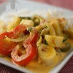 Brazilian Moqueca De Palmito brazilian Vegetarian Stew with Palm Hearts Appetizer