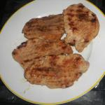 Australian Garlic and Soy Grilled Pork Chops BBQ Grill