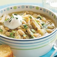 Chilean White Chicken Chili Dinner