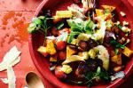 Australian Chorizo Pumpkin And Corn Salad Recipe Appetizer