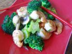 Chinese Shrimp and Broccoli Stirfry 2 Dinner