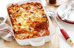 American Pizza Pasta Bake Recipe Appetizer