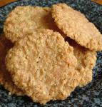 American Oatmeal Lace Cookies 5 Dessert
