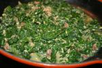American Yummy Cooked Spinach Appetizer