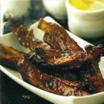 Canadian Glazed Spare Ribs Appetizer