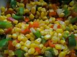 Australian Southwestern Corn and Peppers Appetizer