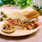 Italian Muffaletta from New Orleans Alcohol