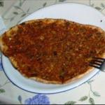 Lahmacun pizza recipe