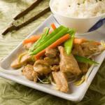 Chinese Stirfry Pork with Ginger Recipe Dinner