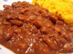 American Mole Pinto Beans Dinner