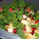 American Green Cabbage Salad with Apples Cranberries and Gorgonzola Appetizer