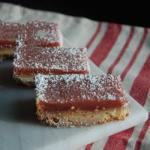American Bars to the Raspberry and Lemon Dessert
