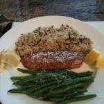 Almond Crusted Talapia recipe