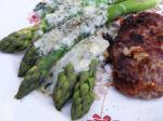 Italian Asparagus With Gorgonzola Appetizer