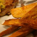 Caribbean Roasted Sweet Potato Wedges 1 BBQ Grill