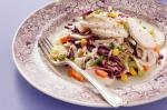 American Poached Chicken With Coleslaw And Aioli Recipe Appetizer