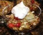 American Light Cranberry Apple Crisp Dessert
