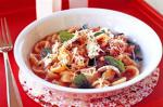 Canadian Pasta With Fresh Tomato And Mozzarella vegetarian Recipe Appetizer