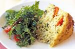 Canadian Tomato and Rosemary Risotto Cake glutenfree Recipe Appetizer