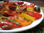 American Tomatoes With Lemon Thyme Appetizer