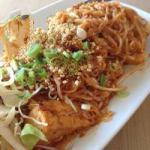 Thai Pad Thai at the Tofu Appetizer