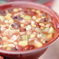 Spanish Hearty Bean and Vegetable Soup Soup