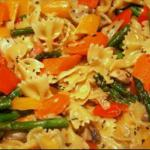 Steves Pasta Primavera recipe
