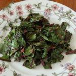 American Sauteed Beetroot Sheets Appetizer