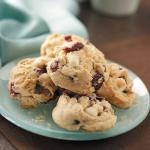 American White Chocolate Cranberry Cookies 3 Dessert