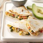American Spinach Quesadillas 6 Appetizer