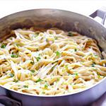 Australian Fettuccine Alfredo with Chicken Dinner
