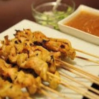 Chinese Chicken Satay BBQ Grill