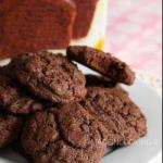 American Double Mix Cookies and Chocolate Cake Dessert