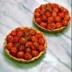 American Tarts Cherry Tomatoes Rosemary and Parmesan Appetizer