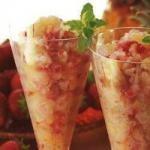 Summer Drink with Pineapple and Berries recipe