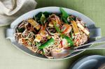 Japanese Soba Noodle Tofu and Vegetable Salad With Miso Dressing Recipe Appetizer