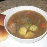 American Hearty Steak Soup Soup