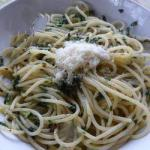 Australian Spaghetti with Garlic Parsley and Chili spaghetti Aglio Olio E Peperoncino Appetizer