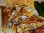 American Smoked Cheddar Quesadillas Dinner