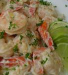 Mexican Green Lime Shrimp  Mexico Dinner