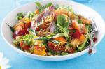 British Chargrilled Ham And Vegetable Salad Recipe Appetizer