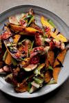 American Roasted Sweet Potatoes and Fresh Figs Recipe Appetizer